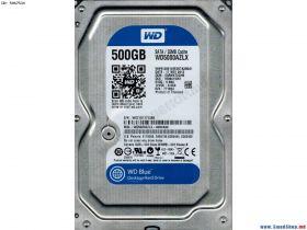 """Жесткий диск HDD 3.5"""" 500Gb Western Digital WD Blue Desktop 500 GB WD5000AZLX"""